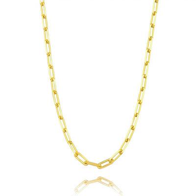 Colar Choker Cartier Elo Grosso - Ouro 18k