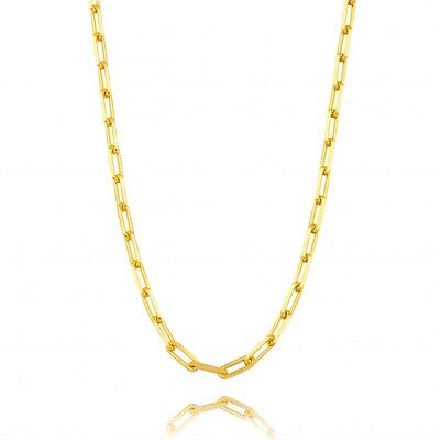 Colar Choker Cartier Elo Fino - Ouro 18k