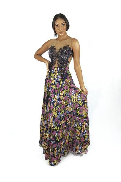 Vestido longo Taila