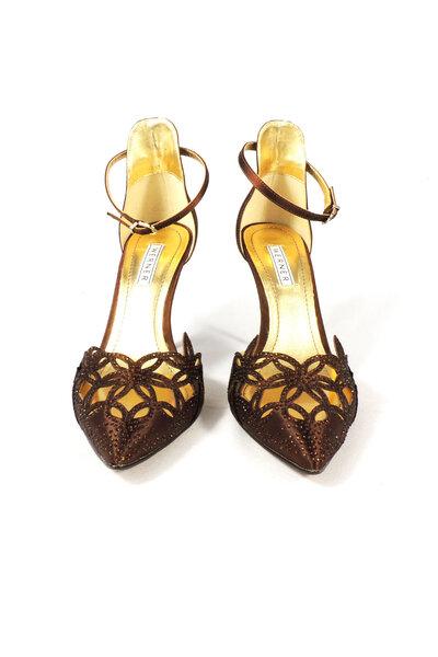 Sapato scarpin com tira tornozelo