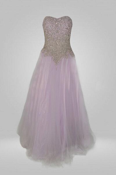 Vestido debutante com bordado