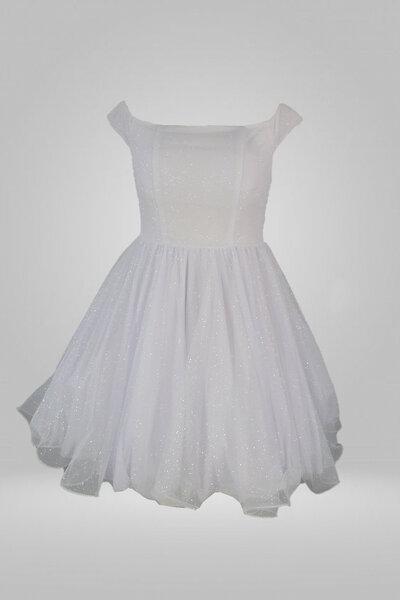 Vestido curto debutante