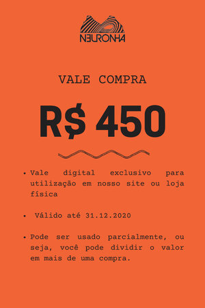 VALE PRESENTE R$450