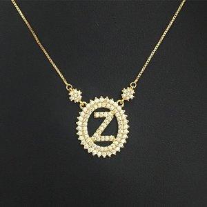 Colar Inicial do Nome Letra Z