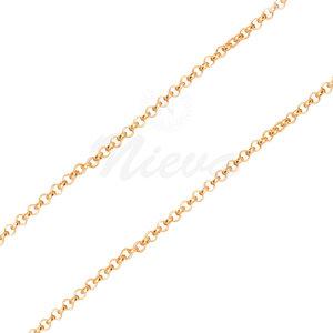 Corrente Portuguesa Fina Ouro - 70 cm