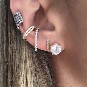 Brinco Ear Hook Palito Pressão
