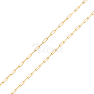 Colar Corrente Cartier Ouro 55 cm - Elo 0,4 mm