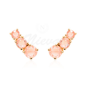 Brinco Ear Cuff Candy Morganita Ouro
