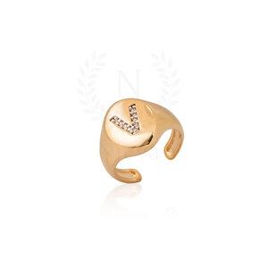 Anel Dedinho Inicial Ouro - Sob Encomenda (PRAZO DIFERENCIADO DE ENTREGA)