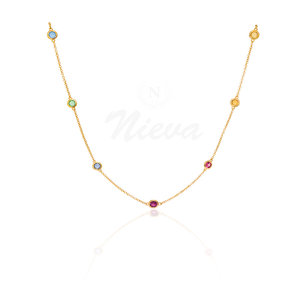 Choker Tiffany Rainbow Ouro