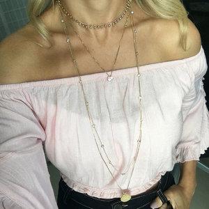 Colar Ponto de Luz Tiffany Ouro (Prata 925) 80 cm