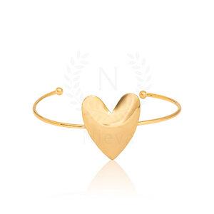 Bracelete Coração Ouro