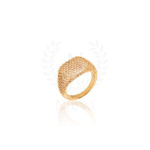 Anel Dedinho Luxo Ouro