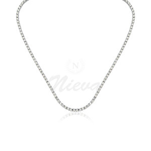 Colar Riviera Clássico 45 cm (Prata 925)