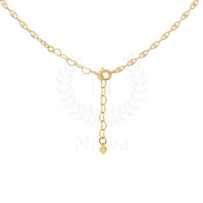Corrente Millie Ouro - 40 cm/ 50 cm / 60 cm