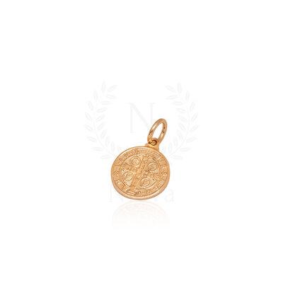 Pingente Medalha de São Bento 1,5 cm