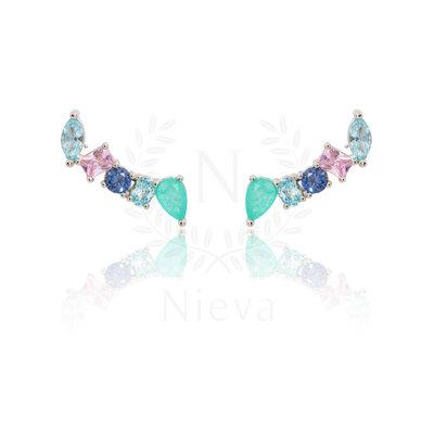 Brinco Ear Cuff Lili Prata 925