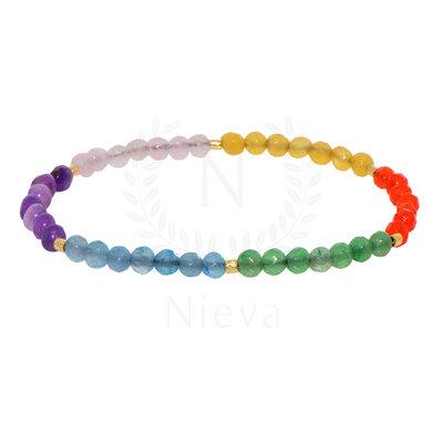 Pulseira Summer Jade Rainbow
