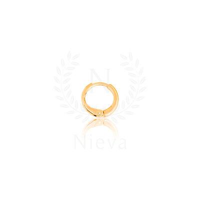 Pingente Cadeado Inicial do Nome Ouro - ACOMPANHA CONTRA ARGOLA (Escolha a sua letra) - SOB ENCOMEND