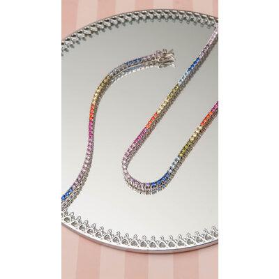 Pulseira Riviera Rainbow Prata 925
