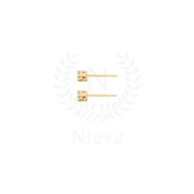 Brinco Ponto de Luz PP Ouro (Prata 925)