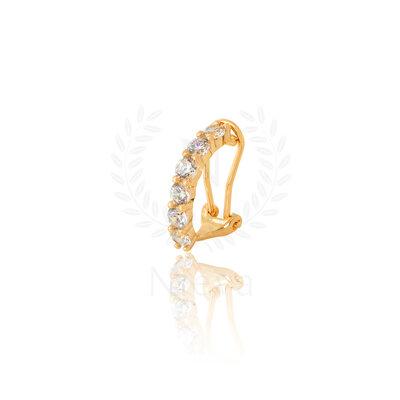 Brinco New Sofia White Ouro (Prata 925)