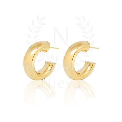 Argola Bold Ouro