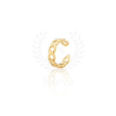 Brinco Piercing Grumet Ouro