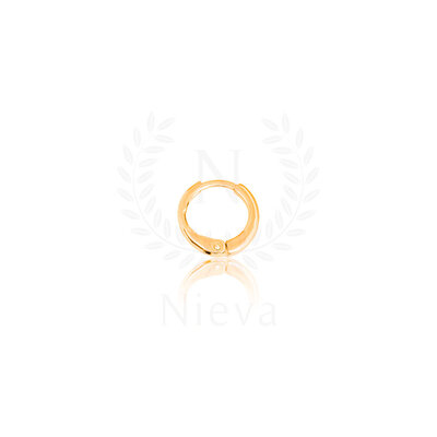 Pingente / Argola Lacre SodaCap Cravejado Ouro (Acompanha Contra Argola)