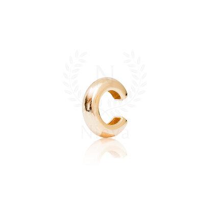 Brinco Piercing Tubo Nati Ouro 1,9 cm