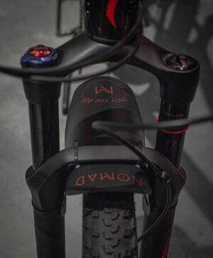 Paralama Bike MTB Dianteiro ETR Vermelho