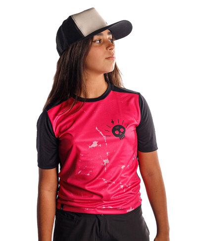 Camisa Grom Pink Skull