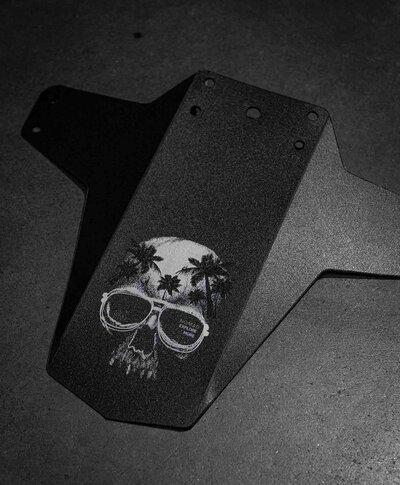 Paralama MTB Dianteiro Skull