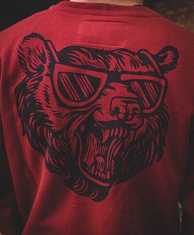 Moletom Vermelho Bear