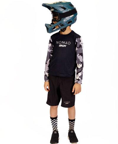 Camisa Manga longa Grom Camuflada