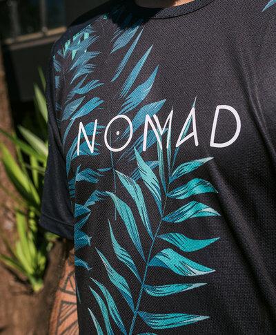 Camisa Leaf Masculina Manga Curta