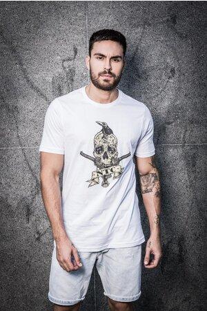 Camiseta Armed Skull