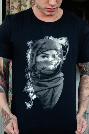 Camiseta Black Smoke