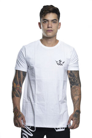 Camiseta Checkered Crown