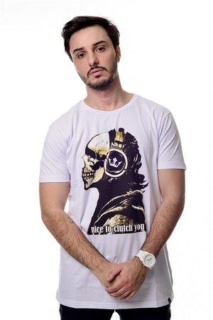 Camiseta Music Skull