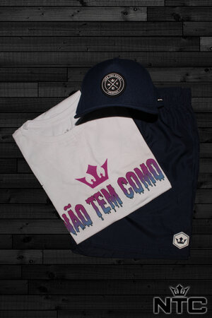 Conjunto 30 - Camiseta + Shorts + Bone C/ 15% de Desconto
