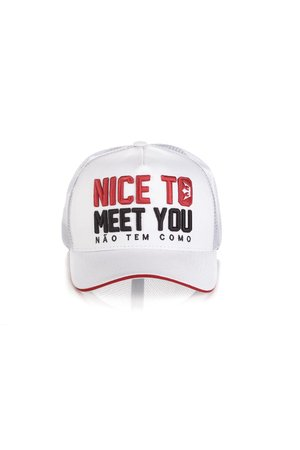 Boné Nice Too Meet You