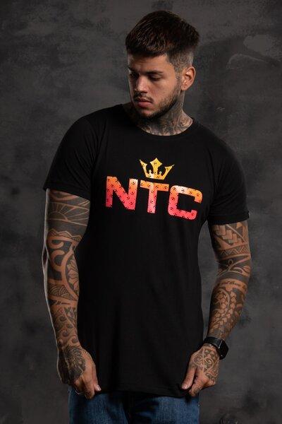 Camiseta Mult Collors - Preto