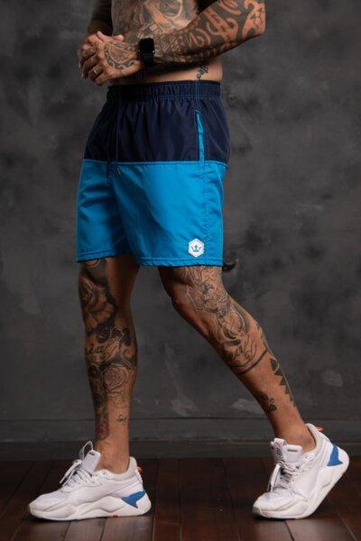 Shorts Two Collor - Azul