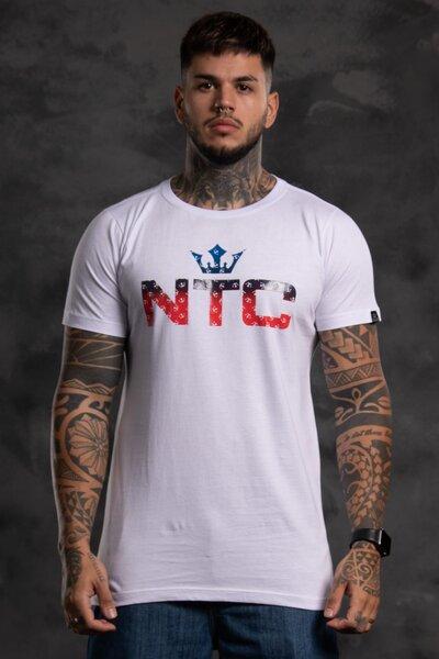 Camiseta Mult Collors - Branco
