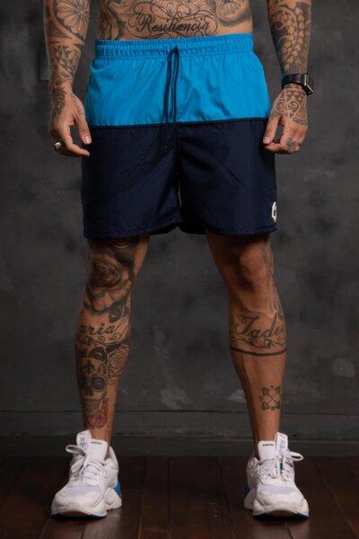 Shorts Two Collor - Azul Marinho