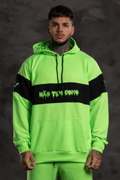 Moletom Ntc Fluor - Verde