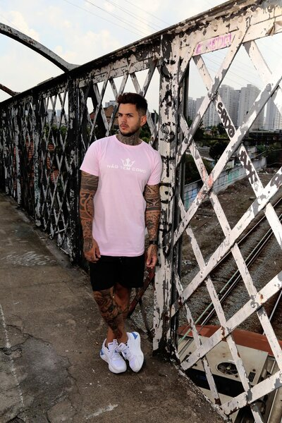 Camiseta Não Tem Como V2 - Rosa