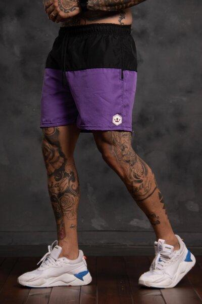 Shorts Two Collor - Roxo