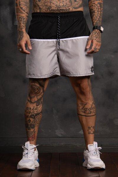 Shorts Strip Collor - Mescla
